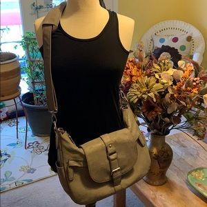 Kelly Moore- taupe Hobo bag! Excellent condition